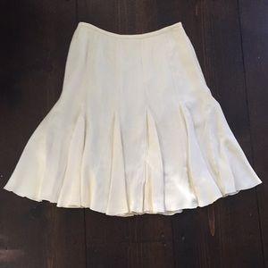 Vintage Armani Collezioni Size 4 Ivory Skirt